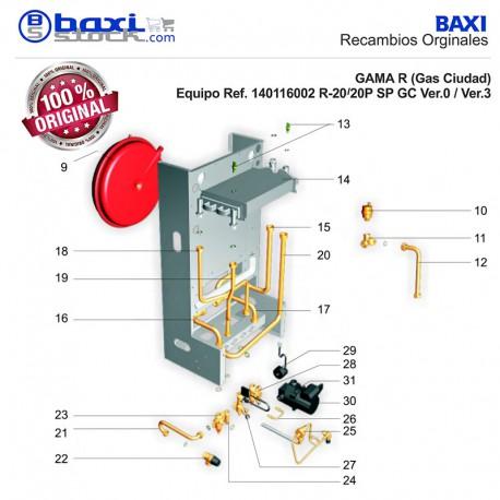 Kit Termistancias Calefacci N A C S 2ud Baxistock S L