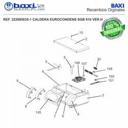 TAPA FRONTAL SGB 400-610H