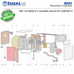 CARCASA CUADRO CONTROL LAIA GT S
