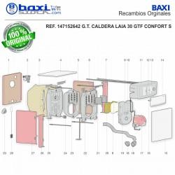 TAPA FRONTAL CUADRO CONTROL LAIA GT S