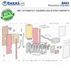 TUBO IDA SUPERIOR LAIA 25-30 GTA CONFORT S