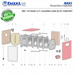 TAPA FRONTAL LIDIA GT CONFORT