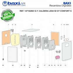 PANEL SUPERIOR LIDIA 50 GT CONFORT S