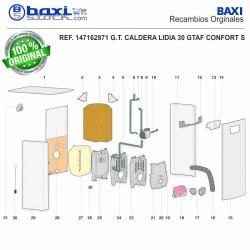 PANEL SUPERIOR LIDIA 30 GTA-GTAF CONFORT S