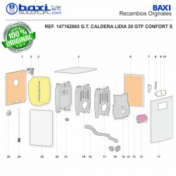 PANEL SUPERIOR LIDIA 20 GT-GTF CONFORT S