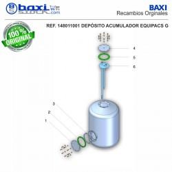 PLACA BOCA SUPERIOR EQUIPACS G100 INOX