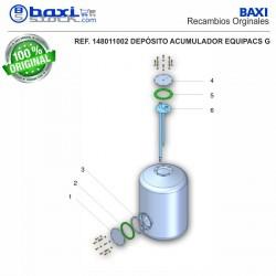 PLACA BOCA SUPERIOR EQUIPACS G100/PC INOX