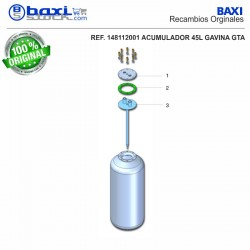 PLACA BOCA SUPERIOR GM 45 I 1 INOX
