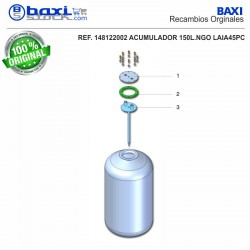 TAPA BOCA SUPERIOR GM 150 I 7/PC