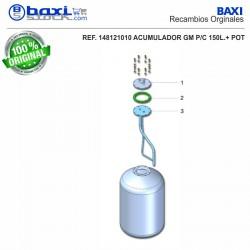 CONTRABRIDA ACUMULADOR GM 100-150 I/PC