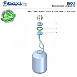 PLACA BOCA SUPERIOR GMH 150 I INOX