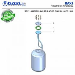 PLACA BOCA SUPERIOR GMH 150 I/PC INOX