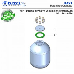 TAPA BOCA SUPERIOR GM100-1V - GM150-1V