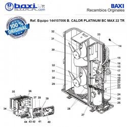 PANEL TRASERO INFERIOR BC 22 MAX