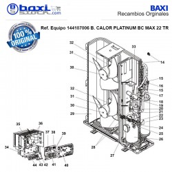 PANEL FRONTAL INFERIOR BC 22 MAX