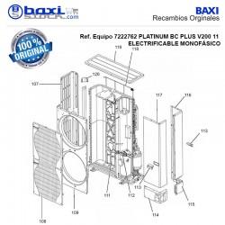 SOPORTE DE VASO DE EXPANSIÓN BC V200