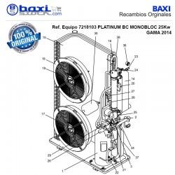 PLACA ELECTRONICA PROGRAMANDA BC MONOBLOC 15-25-38