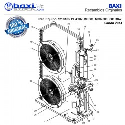 BOMBA AGUA BC MONOBLOC 25-38