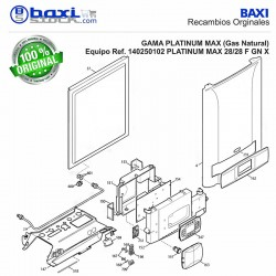 PANEL FRONTAL PLATINUM MAX 28/28F