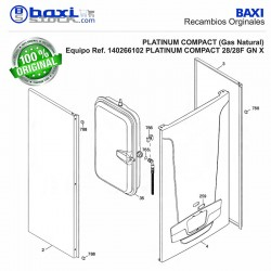 PANEL FRONTAL PLATINUM COMPACT