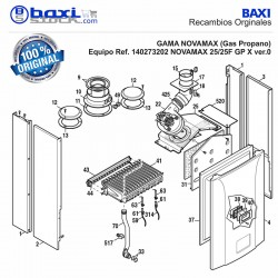 REDUCTOR AIRE NOVAMAX 25/25-31/31F