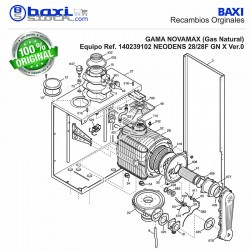 VENTILADOR RG128/UB 230V PLATINUM DUO 33AIFM