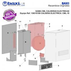 GRUPO CALEFACTOR 9,9 KW CML-10