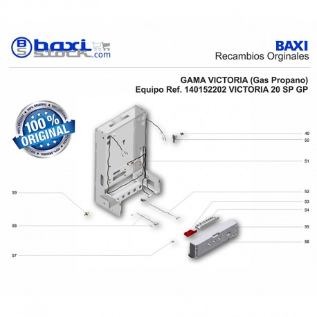 CLIXON SEGURIDAD INTERCAMBIADOR DE REARME MANUAL