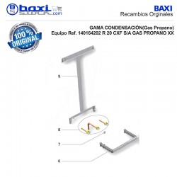 KIT ACCESORIOS INSTALADOR PMC.01 (GAS NATURAL Y GAS PROPANO)