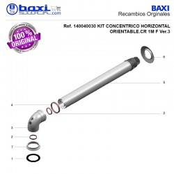 CODO+BRIDA ORIENTABLE E/R 60/100