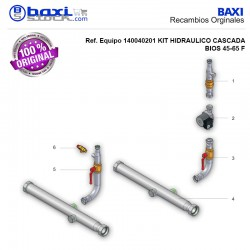 VÁLVULA DE SEGURIDAD 3BAR KIT HID. BIOS 45-65F