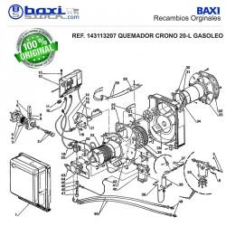 CAJA DE CONTROL 553 SE CRONO 2L/3L/5L/3LX/L2