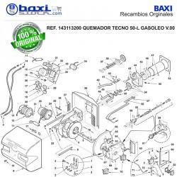 RÁCORD TUBO FLEXIBLE TECNO L-LM/CRONO L/KT
