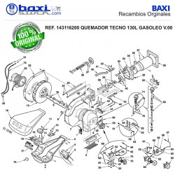 SOPORTE BASE T 70-100-130-190 G/GM Y 190 L