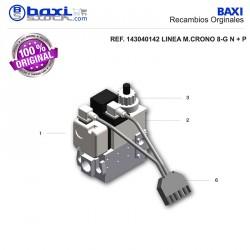 BOBINA 1ª ETAPA RAMPA DE GAS MBDLE 405/407 B01