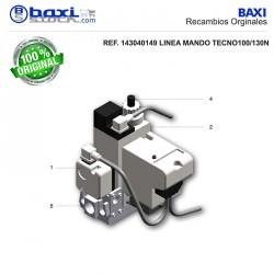 PRESOSTATO PARA RAMPA DE GAS MBDLE 415/420