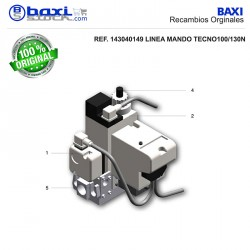 PARTE FILTRANTE RAMPA DE GAS MBDLE 415/20