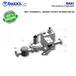 BOBINA 1ª ETAPA RAMPA DE GAS DMV-DEL 5065/11