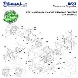 BRIDA PARA RAMPA DE GAS CRONO 4G COMPACT