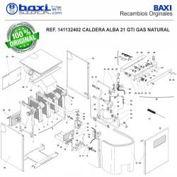 COLECTOR DE GAS ALBA 21