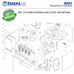 AISLANTE COLECTOR GAS ALBA 22