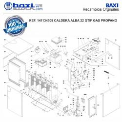 COLECTOR DE GAS ALBA 22
