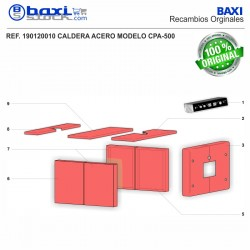 PANEL FRONTAL CPA 400-500
