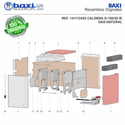 TAPA POSTERIOR 336X320X2,5 G100