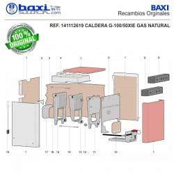 CABLE CONEXIÓN LINEA GAS G100/50 (S4565BF)