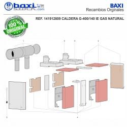 COLECTOR IDA/RETORNO 2X2 G400/215-175-140