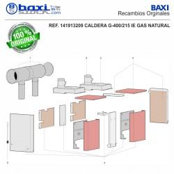 AISLANTE CUERPO G100/110