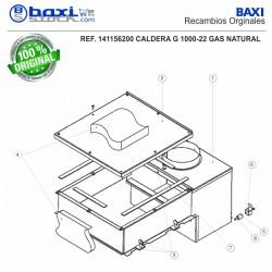BARRAS DE INTERENCENDIDO G1000-22