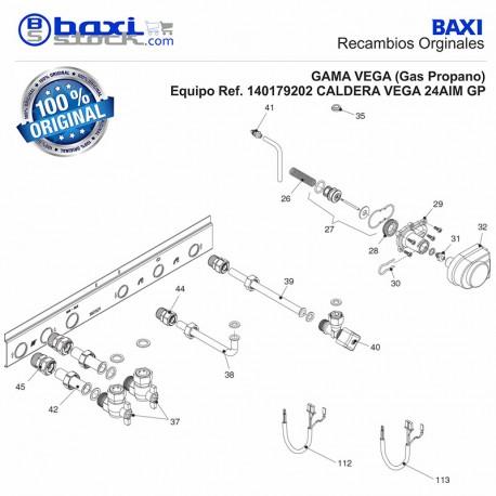CABLEADO ELÉCTRICO 230V (V3V) ROCA VEGA