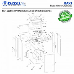 TAPA FRONTAL SGB 125-300